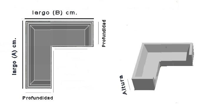Funda para sof de exterior modular en l a medida for Sillon en l medidas