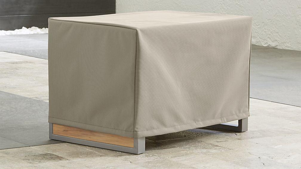 Funda para mesa cuadrada de78 x 78 x 55 color CREMA