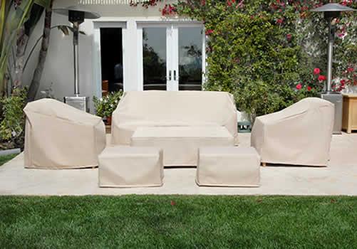 Funda exterior para Mesa y sillas 124x124cm.